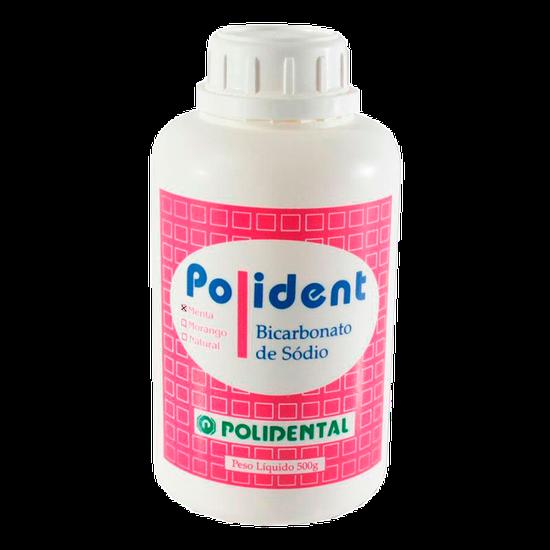 Bicarbonato de Sódio Polident Menta 500g