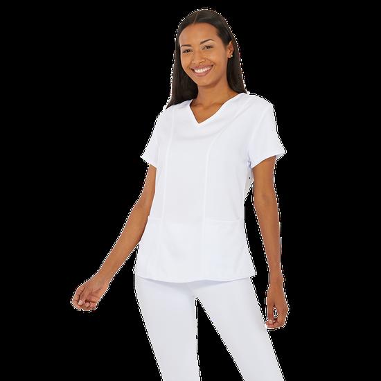 Blusa Scrub Feminino Unik Branco - M