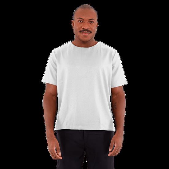 Blusa Scrub Masculino Unik Branco - M