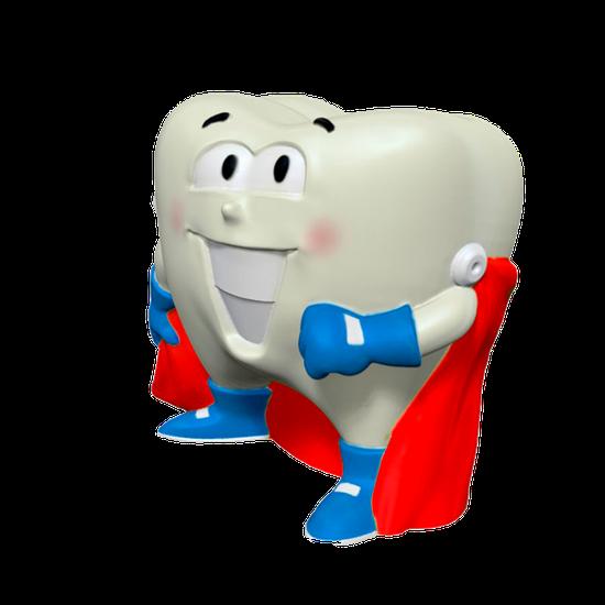 Boneco Látex - Super Dente