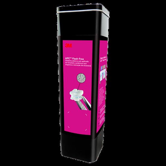Kit Bráquete Cerâmico Clarity Advanced com APC Flash Free MBT 0,022 +  Elástico Obscure Unitek