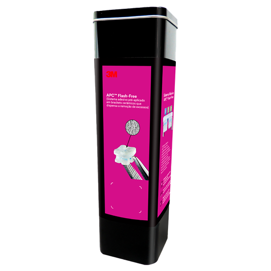 Kit Bráquete Cêramico Clarity Advanced com APC Flash Free Roth 0,022 +  Elástico Obscure Unitek