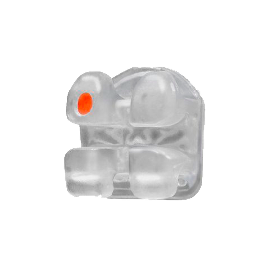Bráquete Cerâmico Gemini Crystal Clear Roth 0,022