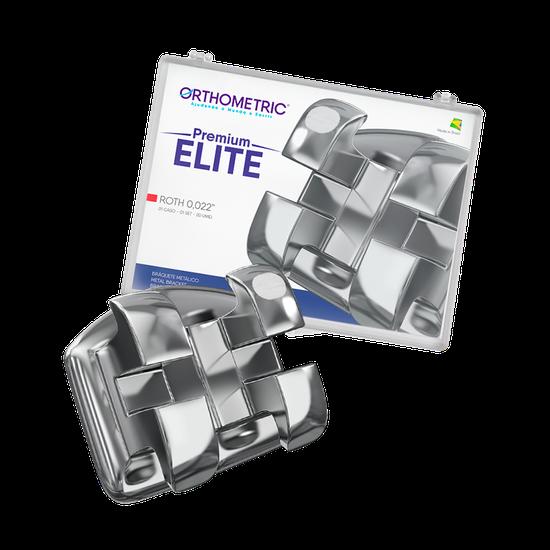 Bráquete Metálico Premium Elite - Roth 0.022