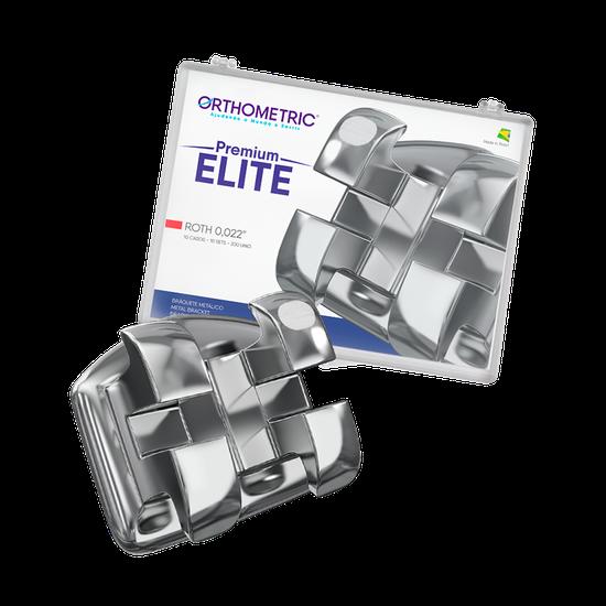 Bráquete Metálico Premium Elite Roth 0,022