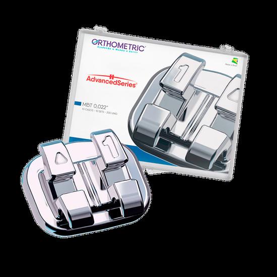 Bráquete Metálico Advanced Séries Mbt 0,022' - 10 Casos
