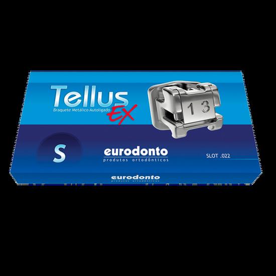 Bráquete Metálico Autoligado Tellus EX ST(Standard) 0,022'' c/ Gancho Nos Caninos e Pré-Molares