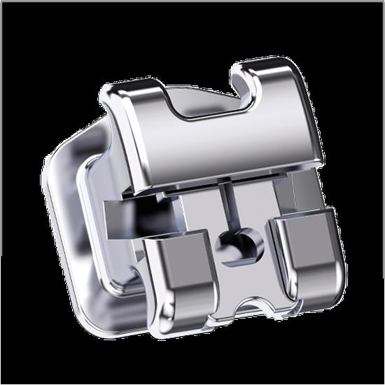 Bráquete Metálico Ultra-P Roth 0,022' - Dente 24 e 25 c/ Gancho - Reposição
