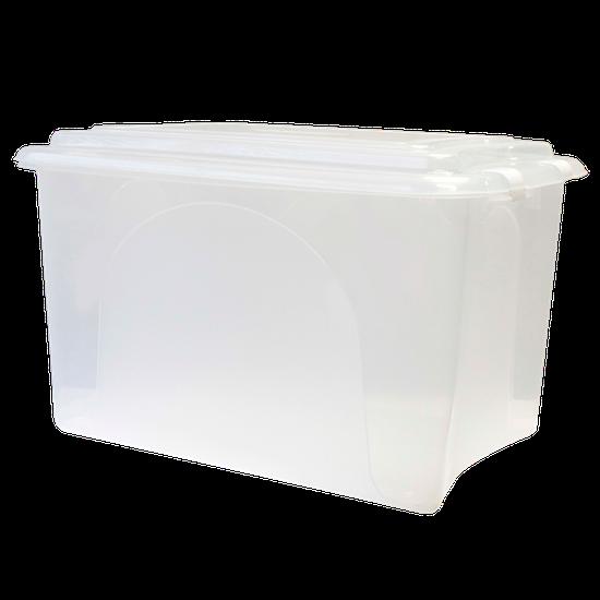 Caixa Organizadora - Transparente - 50L