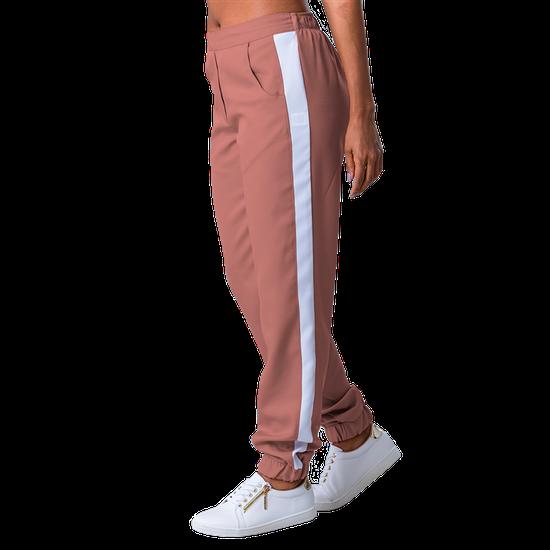 Calça Scrub Feminina Elizabeth Rosê com Branco