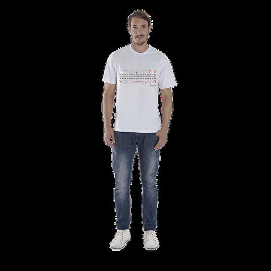 Camiseta Masculina Odontograma