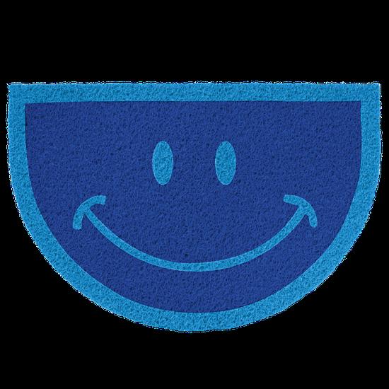 Capacho Sorriso - Azul Royal