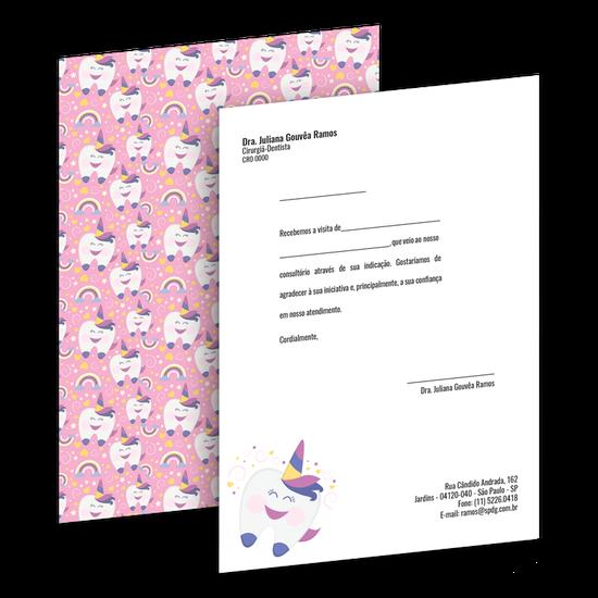 Carta de Comunicação - Agradecimento Indicação - Colega