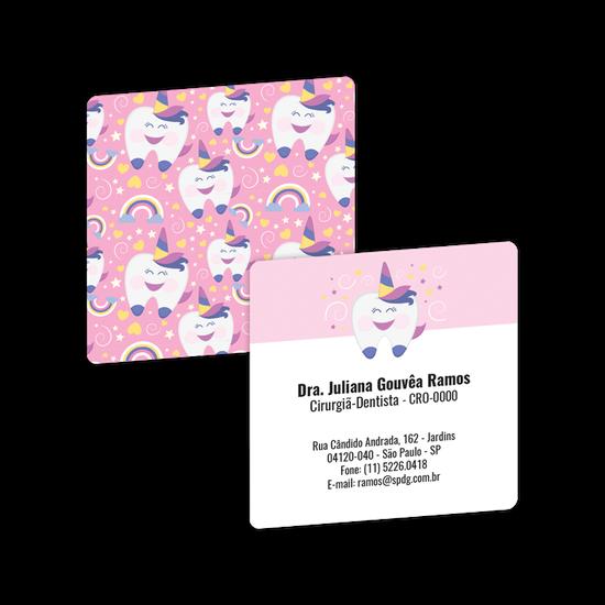 Cartão de Visita Pocket - Dentecórnio