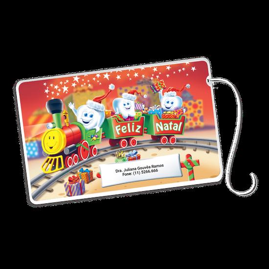 Cartão Fio Dental - Kiko Trenzinho