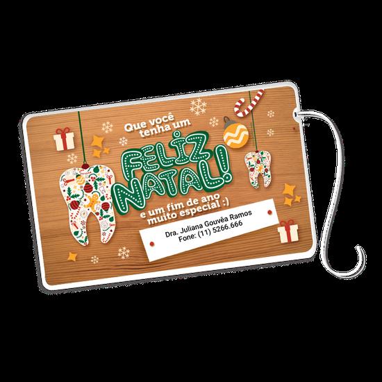 Cartão Fio Dental - Objetos