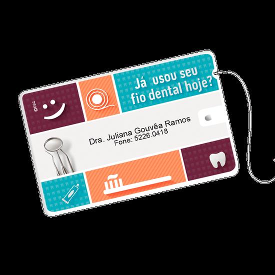 Cartão Fio Dental - Frase Pop