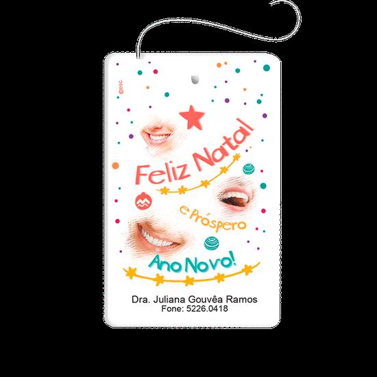 Cartão Fio Dental - Natal Sorrisos