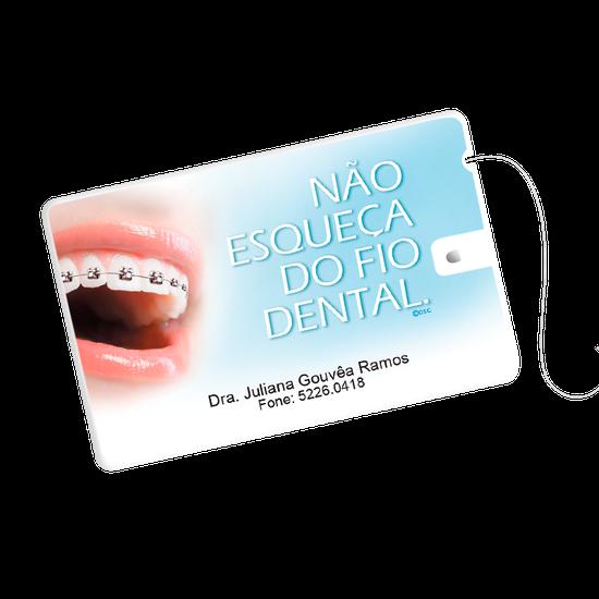 Cartão Fio Dental - Sorrisão Orto
