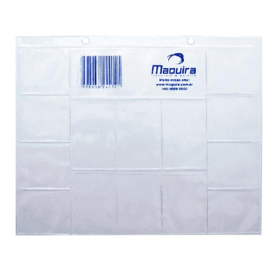 Cartão Raio-X c/ 14 Furos - Plástico