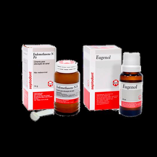 Cimento Endomethasone N - Pó - Brinde Eugenol