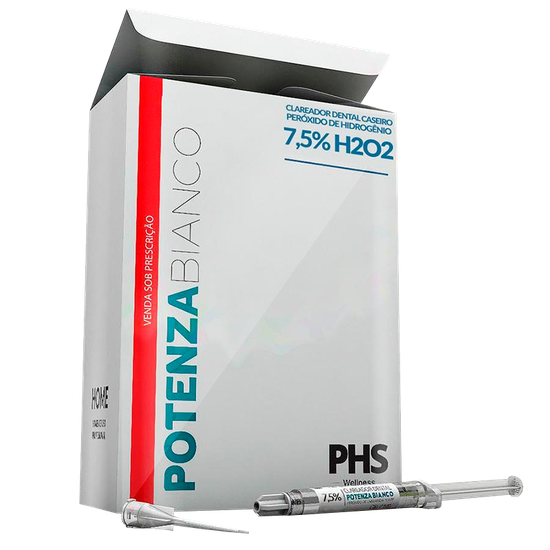 Clareador Potenza Bianco 7,5% - Refil