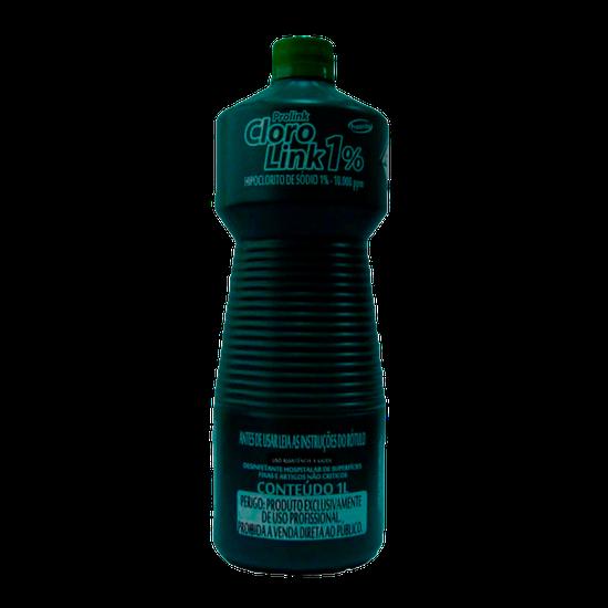 Cloro Link 1% (Hipoclorito de Sódio 1%) 1l