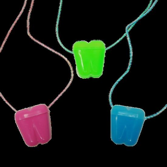 Colar Dentinho - Colorido