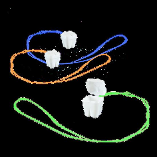 Colar Meu Dentinho - Branco