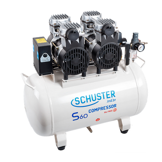 Compressor de Ar S60 60L GII - 110V