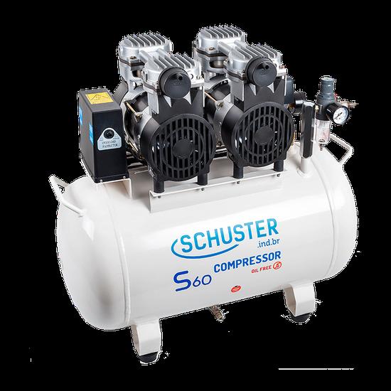 Compressor de Ar S60 60L GII - 220V