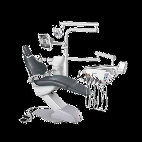Consultório Odontológico Aqia T - Linha Aqia - Cinza Vulcano