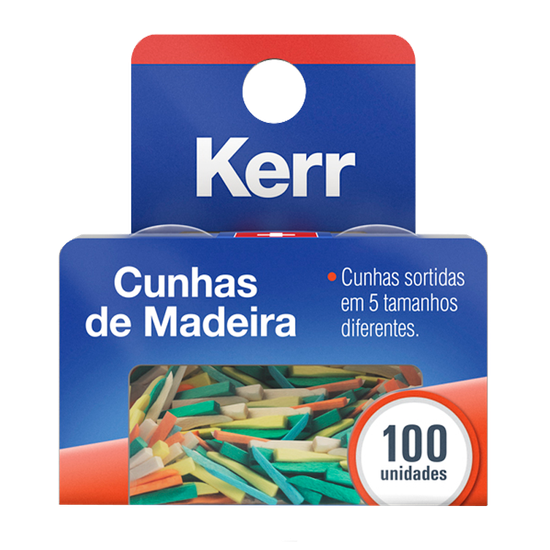 Cunhas de Madeira Interdental