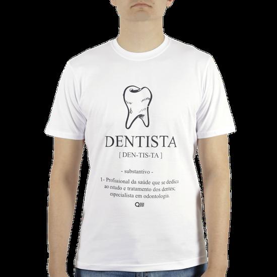 Camiseta Masculina - Dentista Branca - GG