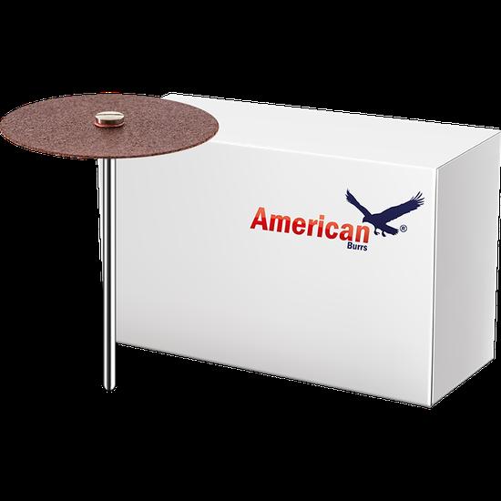 Disco de Carburundum American Burrs - (38,0 x 0,6 mm) - 100 Un.