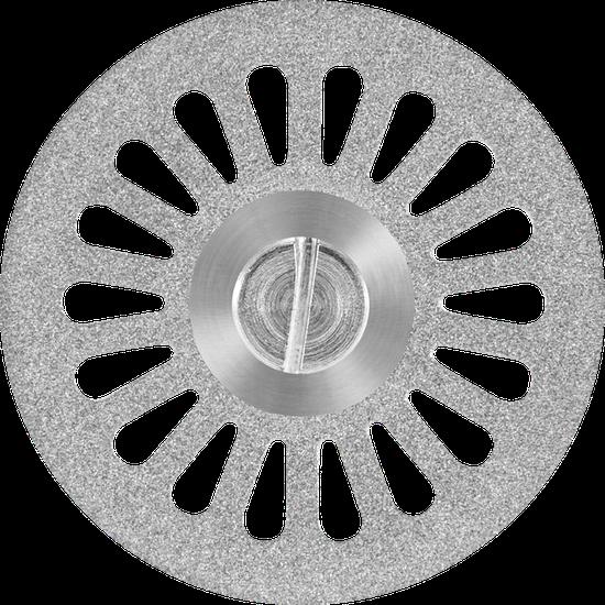 Disco Diamantado Canulado Dupla Face (22 x 0,20mm) Nº 7012
