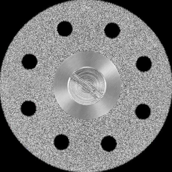 Disco Diamantado Perfurado Monoface (22 x 0,20mm) Nº 7041
