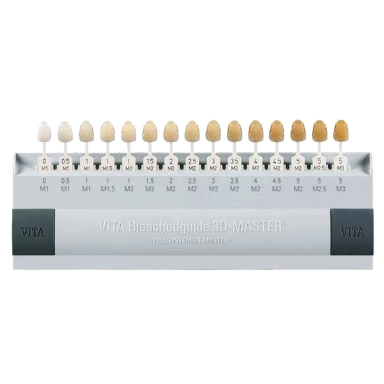 Escala de Cor de Dentes Vitapan 3D Master Bleached