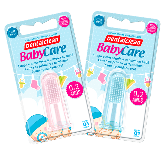 Escova Massageadora Baby Care
