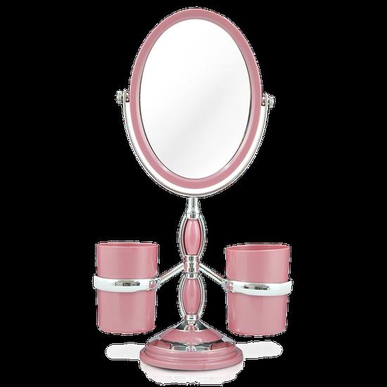 Espelho de Bancada c/ Suportes Laterais