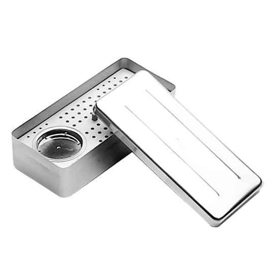 Estojo 72 Furos Placa em Alumínio c/ Bandeja - Endodontia
