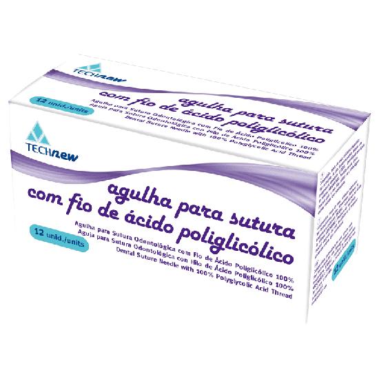 Fio de Sutura Ac Poliglicolico - 5.0
