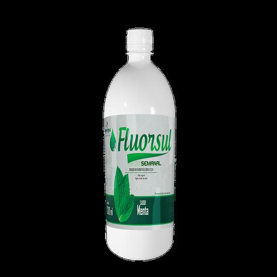 Flúor Solução Semanal Fluorsul 1L
