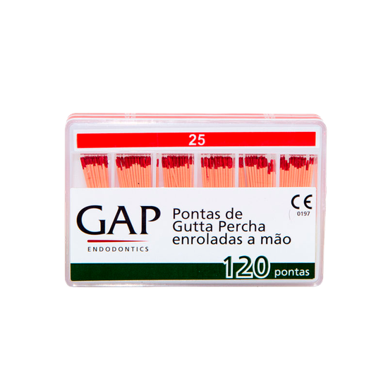 Gutapercha Calibrada - Nº 25