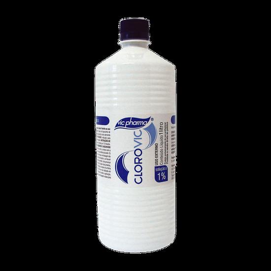 Hipoclorito de Sódio Cloro Vic 1% 1L