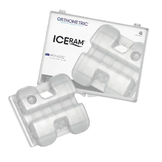 Bráquete Cerâmico Iceram MBT 0,022'' Conjunto 5x5 - MBT 0,022''