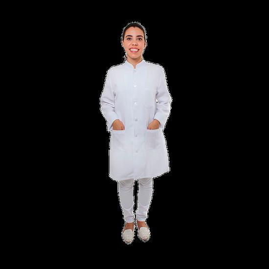 Jaleco Feminino Oxford - Branco
