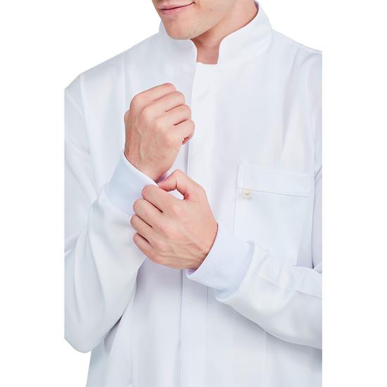 Jaleco Masculino Clássico Branco