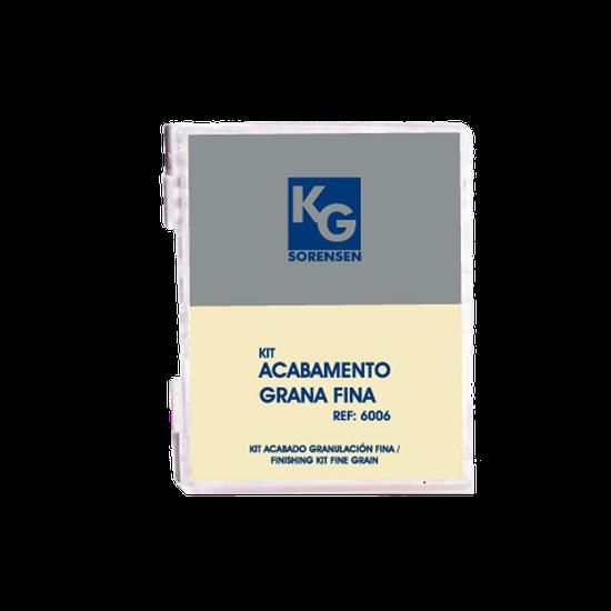 Kit Acabamento Grana Fina