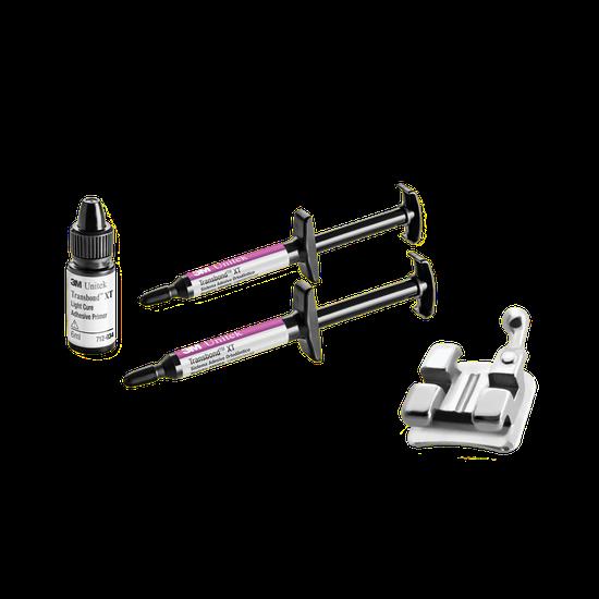 Kit Adesivo Transbond XT - Brinde 3 Casos do Bráquete Kirium MBT 0,022